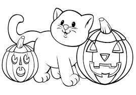 coloring pages surprising halloween coloring pages easy