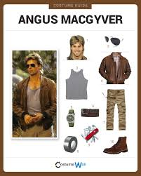 dress like angus macgyver costume halloween and cosplay guides