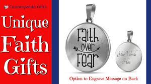 faith gifts faith gift faith fear bible verse gift of inspiration