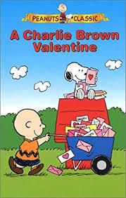 brown valentines a brown peanuts classics vhs