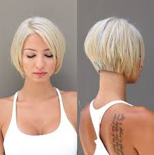 hair cut back shorter than front 60 cool short hairstyles new short hair trends women haircuts 2017