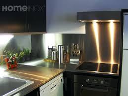 cuisine bois pas cher credence en inox stunning cuisine bois noir inox ideas design trends