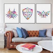Art For Living Room Online Get Cheap Posters Zelda Aliexpress Com Alibaba Group
