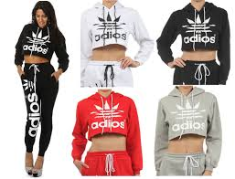 adidas crop top sweater adios adidas sweater in different colors on the hunt