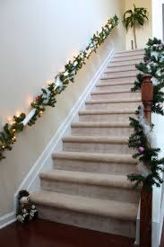 Handrail Christmas Decorations Simply Modern Mom Christmas Decorations House Tour