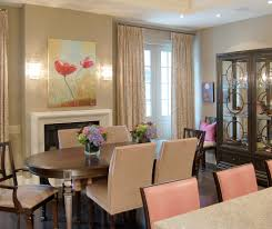 nailhead dining chairs dining room traditional with
