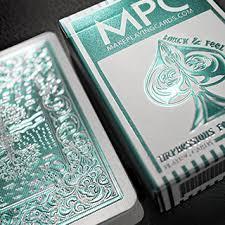 foil mint back cards