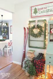 rustic natural cabin chic christmas style series cabin chic