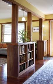 How To Divide A Room With Curtains by The 25 Best Room Divider Shelves Ideas On Pinterest Bookshelf