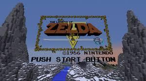 Minecraft 1 8 Adventure Maps The Legend Of Zelda Nes 100 Vanilla Adventure Map Progress Loz