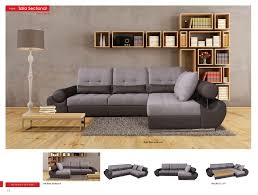 Fabric Living Room Furniture Talia Sectional Sofa Beds Living Room Furniture