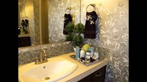 Decorative Bathroom Towels Cool Decorative Bathroom Ideas Youtube