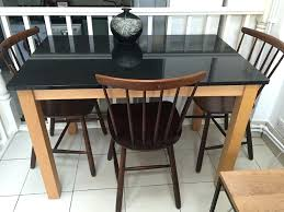 granite counter height dining table set and chairs 22793