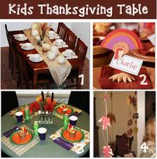 16 thanksgiving day kid table ideas tip junkie