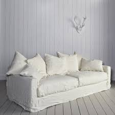 i need a sofa the white linen sofa i need linens studio and loft studio