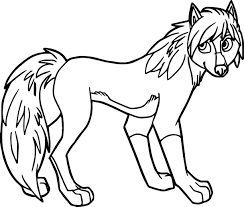 alpha and omega wolf coloring page wecoloringpage