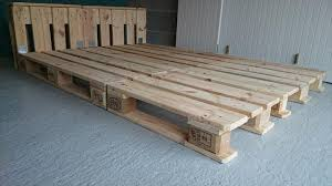 platform bed frame pallets frame decorations
