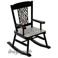 kids zebra chair ebay