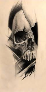 horror skull tattoo design photo 4 real photo pictures images