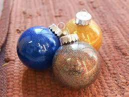 cook craft diy glitter ornaments
