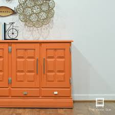remodelaholic 9 cool wood projects november link party orange buffet a second makeover the wood spa by pat rios