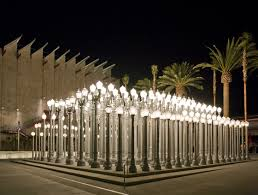 light display los angeles urban light lacma collections