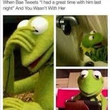 Kermit Meme My Face When - kermit my face when meme