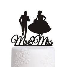 haochu sale wedding cake topper couple running mickey mouse