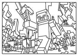 printable minecraft colouring pages for kids coloring pages