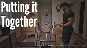 Teeter Ep 560 Inversion Table Putting Together The Teeter Hang Ups Ep 560 Inversion Table Youtube