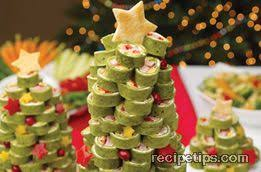 cooks ham tortilla christmas tree recipe recipetips com