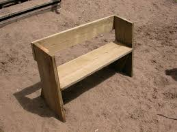 Wood Bench Plans Easy by Easy Beach Or Garden Bench Out Of Scrap Wood Scrap Woods And