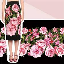 popular fabric linen rose buy cheap fabric linen rose lots from