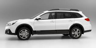 white subaru outback 2017 subaru outback tougher look price rise for 2014 photos 1 of 10