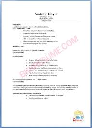 Resume Samples Chef by Commis Chef Sample Resume