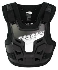 Gp Pro Motocross Mx Chest Roost Protector Body Armour Neck Brace
