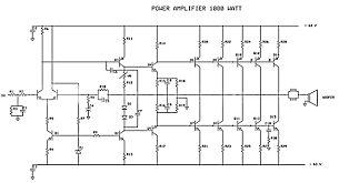 circuit diagram of home theater how to create 1000 watt power amplifier electronic circuit