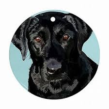 black labrador ornaments collection on ebay