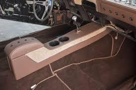 1969 camaro center console installing a stylish interior in a 1969 camaro
