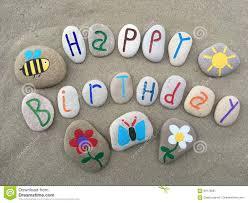 happy birthday message stock image image of wonderful 69170681