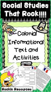 120 best colony ideas images on pinterest teaching social
