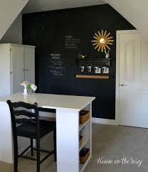 kitchen chalkboard wall ideas you might rethink your home office when you see these brilliant