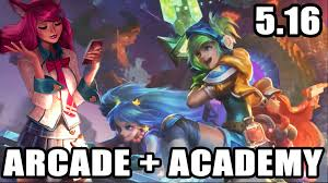 lol arcade academy skins spotlight patch 5 16 blitzcrank riven