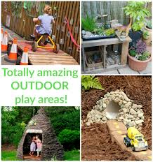 inspiring outdoor play spaces outdoor play spaces play spaces