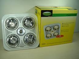 Bathroom Heater Fan Light 4 X 275w Heater Fan Light U2013 Excell Lighting Wholesale