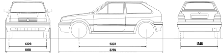 volkswagen drawing car blueprints volkswagen polo iif 86c g40 3 door blueprints
