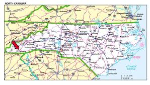 North Carolina Maps Mountainrivercabin Com Maps U0026 Directions