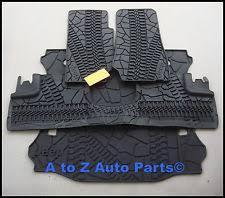 jeep wrangler mats jeep wrangler unlimited floor mats ebay
