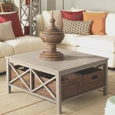 coffee table with baskets under coffe table amazing under coffee table storage baskets home under