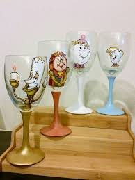 Wine Glass Decorating Ideas 109 Best Wine Glasses Images On Pinterest Painted Wine Glasses